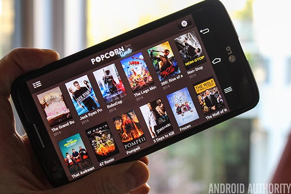 popcorn time vpn android